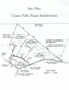 Chase Falls Road Subdivision