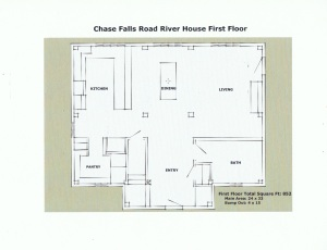 River House First Floor Plan